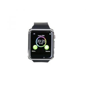 "Platyne Montre connectée Bluetooth tactile 1,5"" - Silicone"