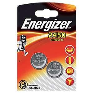 Energizer CR2450 Lithium 3V (par 2)