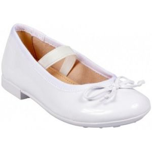 Geox Jr Plie' I, Ballerines Fille, Blanc (White), 34 EU