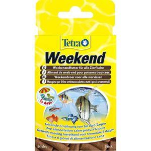Tetra TetraMin Weekend poissons d'ornement - 20 sticks