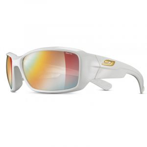 Julbo Whoops Zebra Lunettes de soleil, shiny white/multilayer red Lunettes