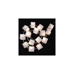 Tsé & Tsé Lampe guirlande avec 15 cubes lumineux