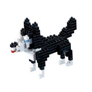 Brixies 410068 - Jeu de construction 3D-Motif - Husky