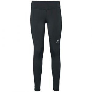Odlo BL Core Warm - Pantalon running Femme - noir L Pantalons course à pied