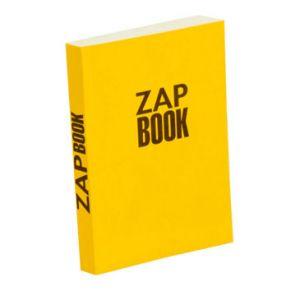 Clairefontaine Bloc papier Zap Book collé grand côté 160 feuilles 80g/m² 11 x 15cm