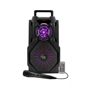 Koolstar Enceinte Karaoke batterie - LED - Compatible APP - 200W - USB/SD/BT/EQ/FM + Micro + Tel