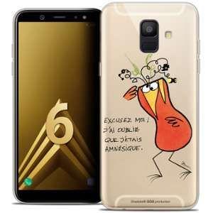 CaseInk Coque Gel Samsung Galaxy A6 2018 (5.45 ) Extra Fine Les Shadoks® - Amnésie