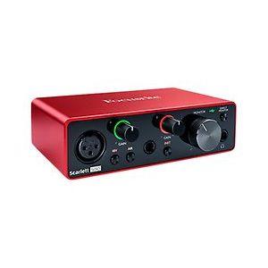 Focusrite Scarlett Solo 3rd Gen interface audio USB 2 entrées, sorties