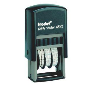 Trodat 4810 - Dateur Printy à encrage automatique (empreinte 20x3,8 mm)