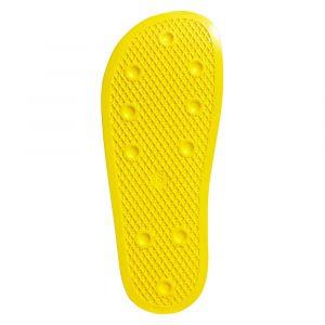 Adidas Claquettes Claquette Adilette jaune - Taille 38,36 2/3