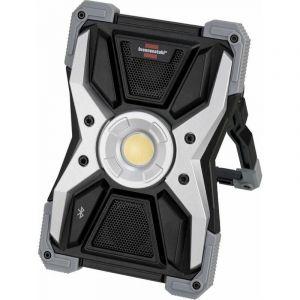Brennenstuhl Projecteur portable LED / Projecteur de travail LED RUFUS 3010 MA avec haut-parleur Bluetooth 3000 lumens