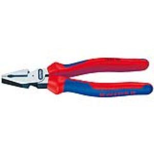Knipex 02 02 180 - Pince universelle à forte démultiplication avec poignées bimatière 180 mm