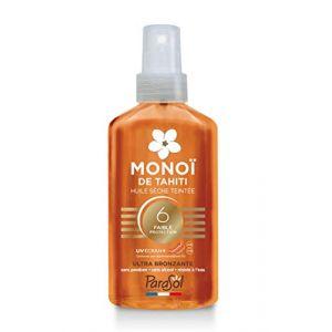 Parasol Monoî de Tahiti - Huile séché teintée ultra bronzante
