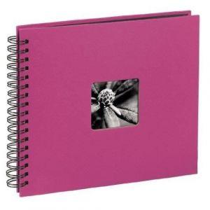 Hama Fine Art Spiral pink 28x24 50 schwarze Seiten 113680