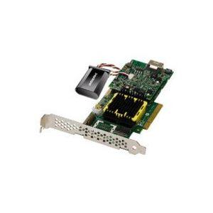Adaptec RAID 5405 - Carte contrôleur PCIe 8x Serial ATA II/SAS Raid 4 ports Low Profile