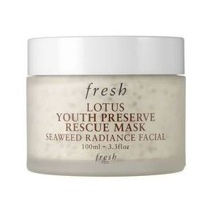 Fresh Lotus Youth Preserve Rescue Mask - Masque pro-jeunesse SOS au lotus