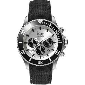 Ice Watch Steel Montre Homme Chrono Black Large 016302