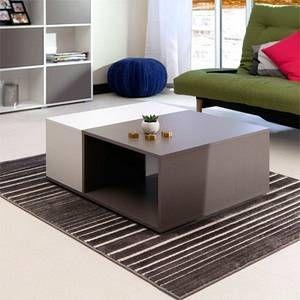 Conforama Table Basse Kub Coloris Taupe Blanc Comparer Avec