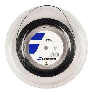 Babolat RPM Blast 100 m Cordage de Tennis, Mixte, RPM Blast, Negro/Black, Size 120