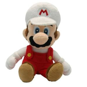 Abysse Corp Peluche Fire Mario 20 cm