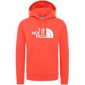 The North Face Drew Peak Sweat à capuche Homme, flare/TNF white S Sweats & Vestes de sport