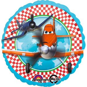 Ballon aluminium Disney Planes Dusty et Skipper (46 cm)