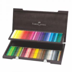 Faber-Castell Coffret bois 120 crayons ALBRECHT DURER