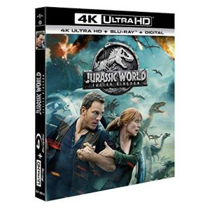 Jurassic World: Fallen Kingdom [Blu-Ray] [4K Ultra HD]