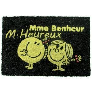 Paillasson Monsieur et Madame (40 x 60 cm)