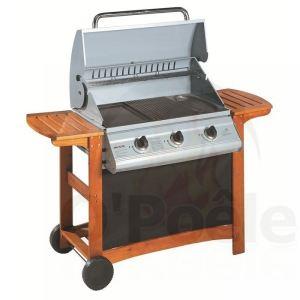 Invicta Portland - Barbecue à gaz 3 brûleurs