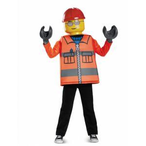 Déguisement ouvrier de chantier L garçon 7 -