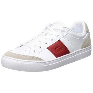 Lacoste COURTLINE 319 1 US CFA, Baskets Femmes, Blanc
