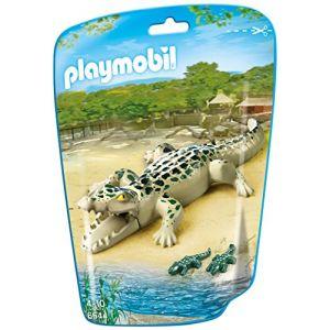 Playmobil 6644 City Life - Sachet alligator avec bébés