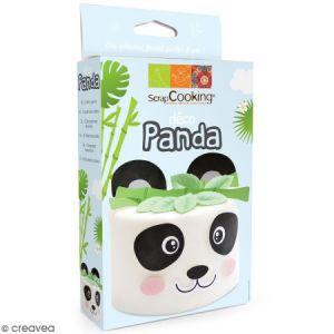 Scrapcooking Kit Déco Azyme Panda