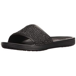 Crocs Sandales Black / Black Sloane Embellished s