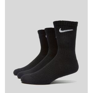 Nike Chaussettes de training Everyday Cushion Crew (3 paires) - Noir - Taille L - Unisex