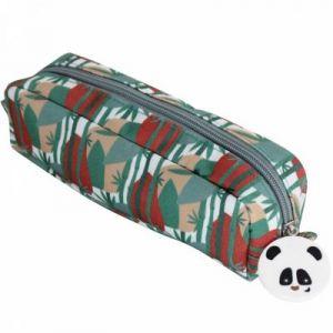 Les Déglingos Les Trousse Simple Rototos Le Panda Trousses, 23 cm, Noir Et Blanc