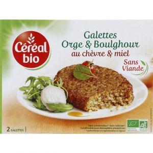 Céréal bio Galettes orge & boulghour au chèvre & miel