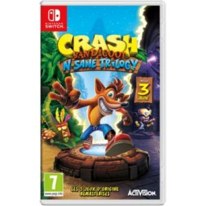 Crash Bandicoot N. Sane Trilogy sur Switch