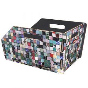 Klickfix Panier arrière Radkiste 1 19 L GTA Mosaique