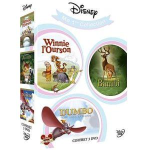 Coffret Bambi + Dumbo + Winnie L'ourson
