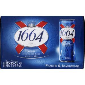 1664 Bière 5,5% 12 x 33cl