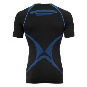 Kettler T-shirt Compression Attitude pro Homme Noir/Bleu XS/S