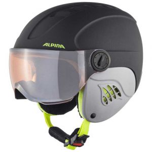 Alpina Casques Carat Le Visor Hm Junior - Charcoal / Neon Matt - Taille M