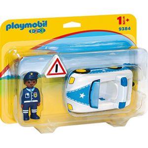 Playmobil 9384 - 1.2.3 : Voiture de Police