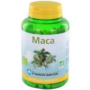 Powersanté Maca bio - 200 gélules végétales