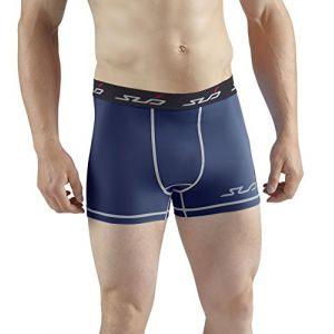 Sub Sports Boxer pour homme Double compression XL bleu marine