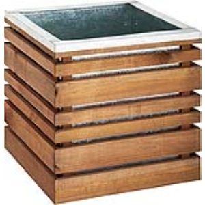 Jardipolys Bac en bois LIGN Z autoclave 60 cm