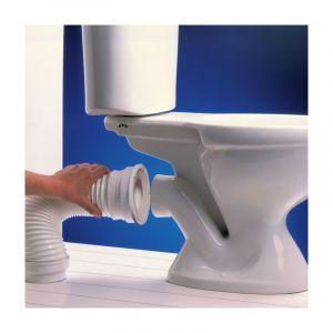 Wirquin pipe wc annelée souple 320-540mm rwc1090