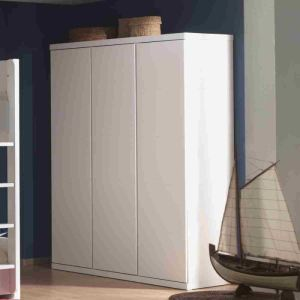 Vipack Furniture Armoire Lara 3 portes 166 x 204 x 57 cm